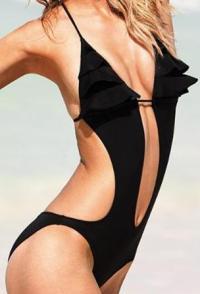 trikini noir