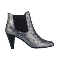 Boots métallisées