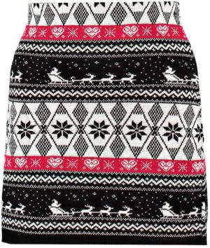 Sophie Reindeer et Sleigh Xmas skirt - Boohoo - 17€ -> -41 10€