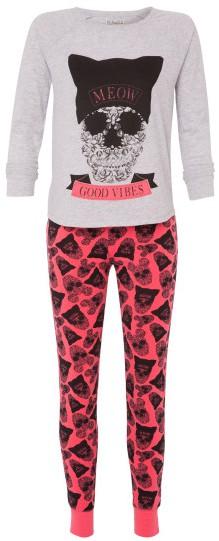 Ensemble de pyjama gris et rose Jiriz - 19.95€