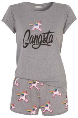 Ensemble de pyjama gris Licoriz - 19.95€